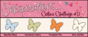 Inkspirations Colour Challenge #11