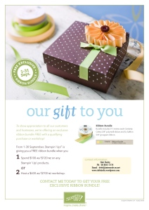 Our Gift to You September Promotion