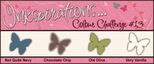 Inkspirations Colour Challenge #13